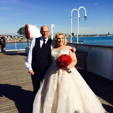 Sheena's Great Gatsby Inspired Wedding Dress