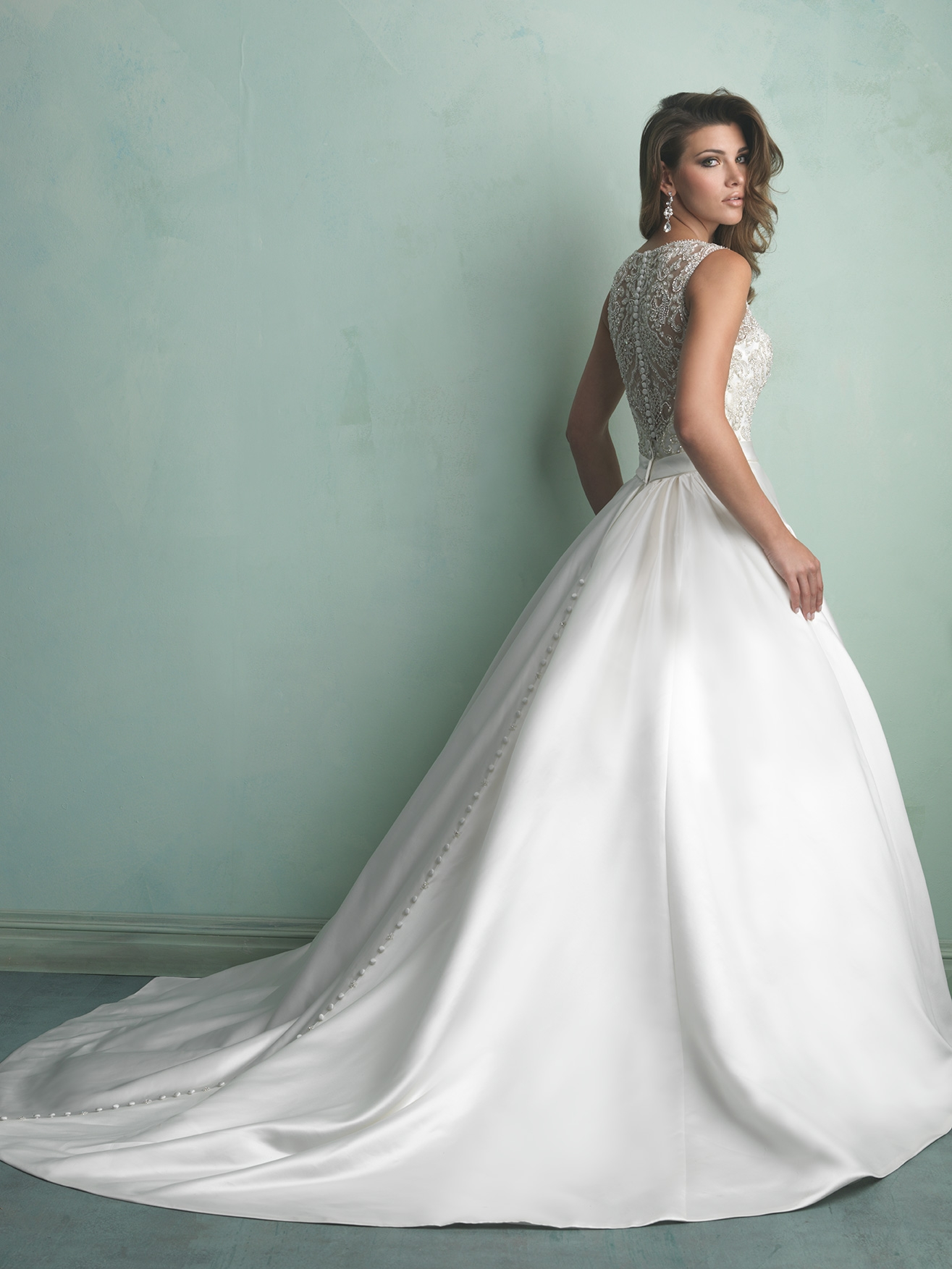 3 Stunning Plus Size Satin Ballgown Wedding Dresses - Strut Bridal Salon
