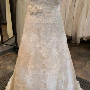 NEW DRESS ALERT: Plus Size Lace Aline Wedding Dress