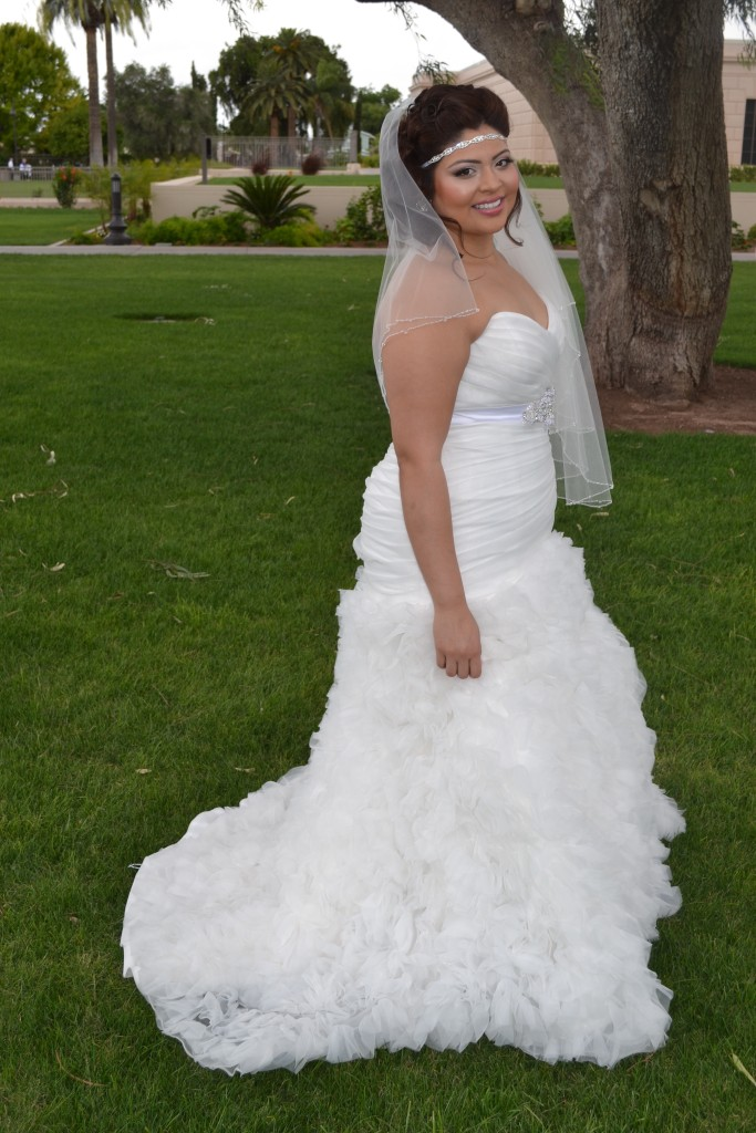 Nicoleh 39 S Fitted Ruffled Wedding Gown Strut Bridal Salon