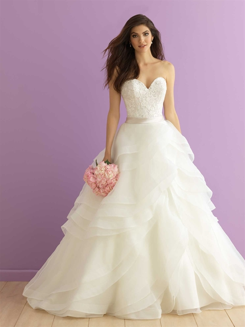 3 of Our Favorite Plus Size Wedding Dresses with Ruffles - Strut ...