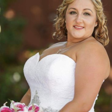 Jill's Lace and Tulle Ballgown by Allure