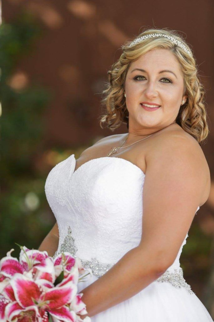Jill\'s Lace and Tulle Ballgown by Allure - Strut Bridal Salon