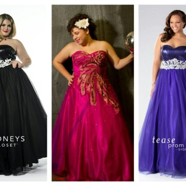 Plus Size Ball Gowns for Prom 2016