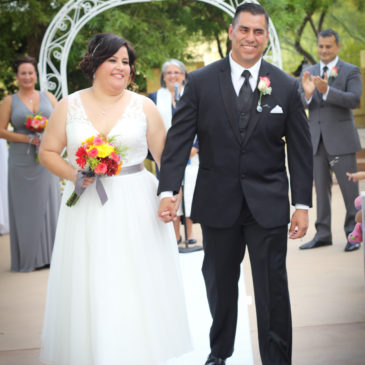 Christina's Custom Tea Length Wedding Dress