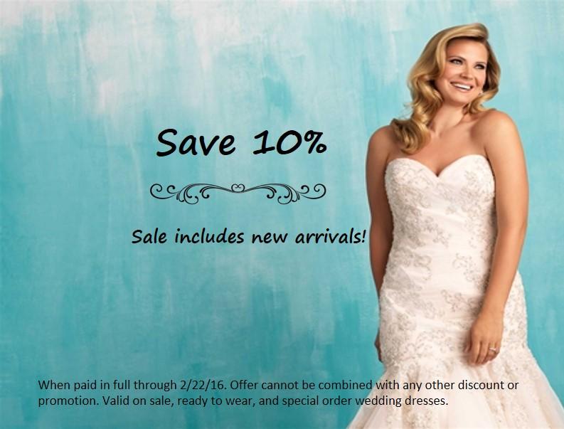Plus Size Wedding Dress Sale - Save 10% Now! - Strut Bridal Salon