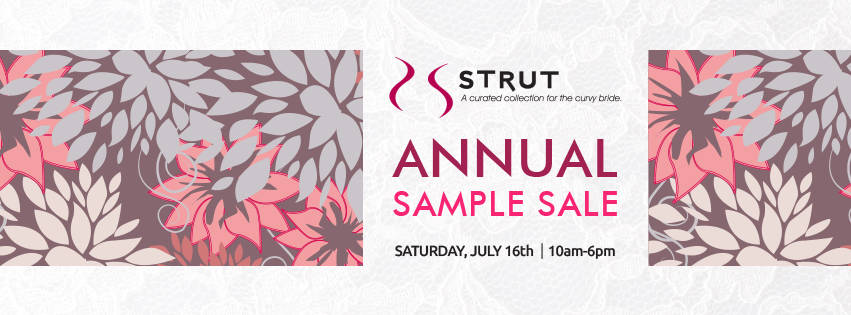 Plus Size Wedding Dress Sample Sale – July 16th