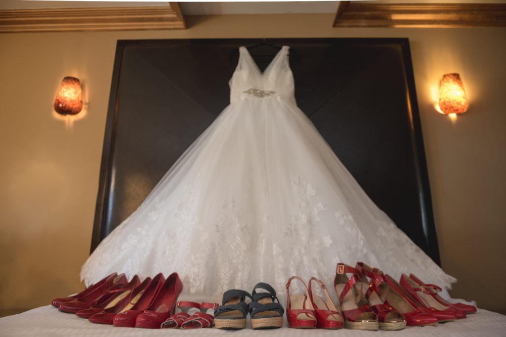 Katrina\'s V-Neck Lace Bridal Gown - Strut Bridal Salon