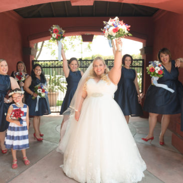 Katrina's V-Neck Lace Bridal Gown