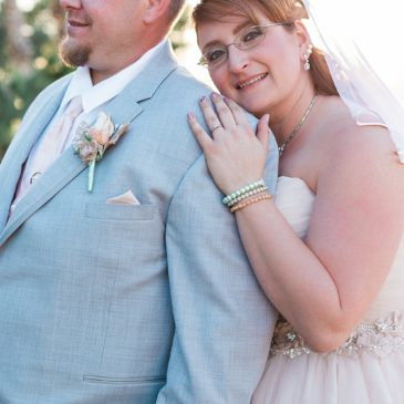 Penny's Champagne Tulle Ballgown