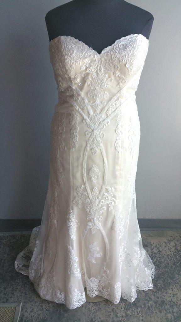 NEW: Vintage Lace Mermaid Wedding Dress - Strut Bridal Salon