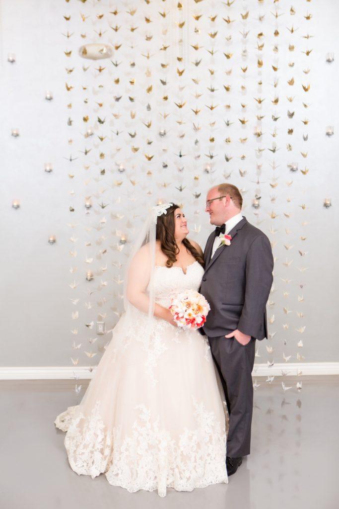 Rachel\'s Champagne Lace Wedding Dress - Strut Bridal Salon