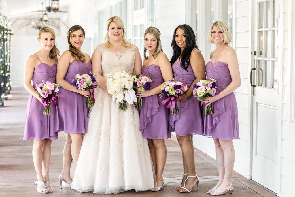 Ashley\'s Illusion Neckline Champagne Wedding Dress - Strut Bridal Salon