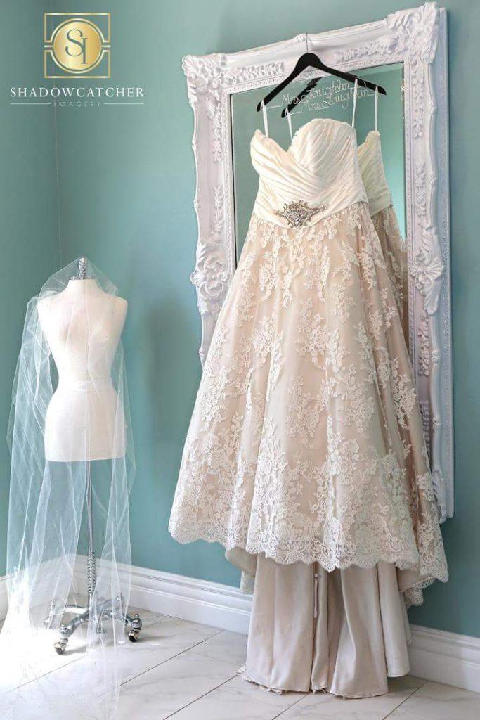 Kelly\'s Custom Wedding Dress - Strut Bridal Salon