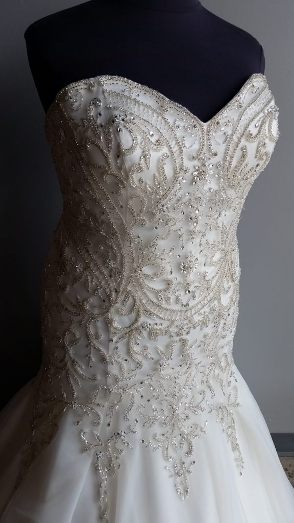 Weve Had This New Beauty For A Few Weeks In Our Long Beach And Already Brides Are Raving About The Incredible Sparkle Everywhere On Bridal Gown