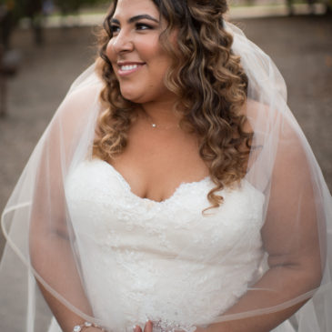 Rebecca's Lace Aline Wedding Dress with Sparkles
