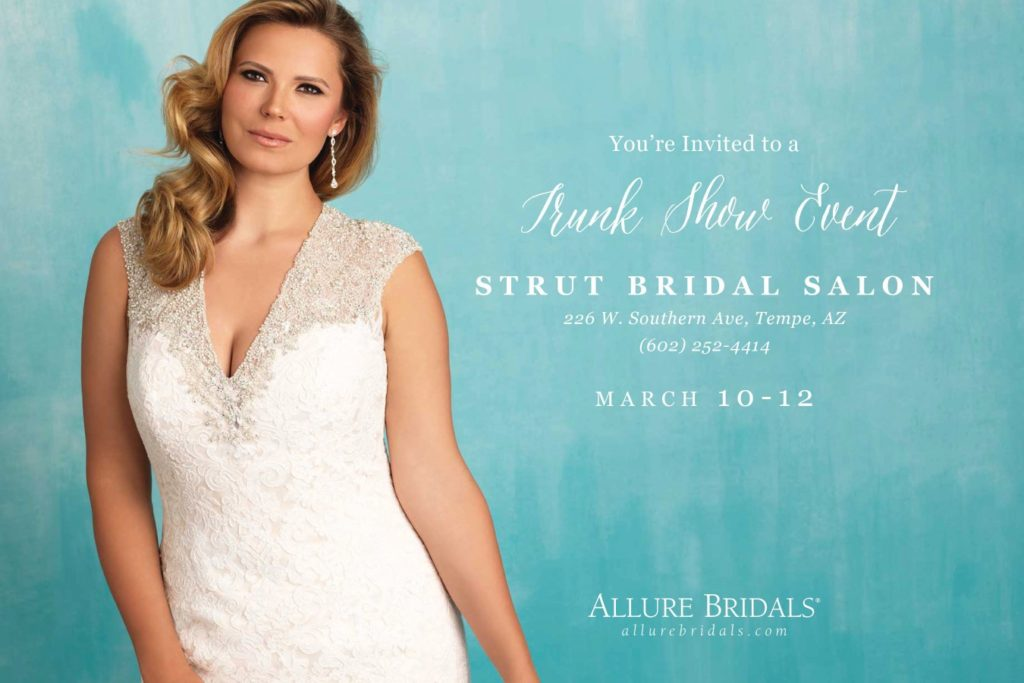 Exclusive Allure Bridals Plus Size Wedding Dress Trunk Show ...