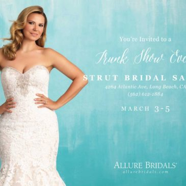 Exclusive Allure Bridals Plus Size Wedding Dress Trunk Show