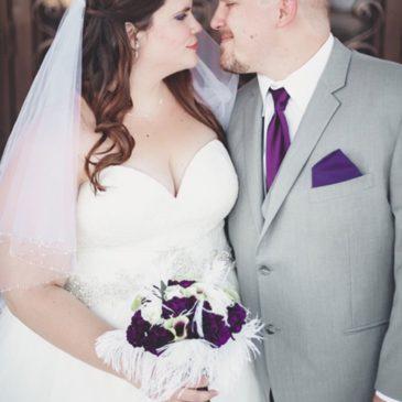 Ali's Lace Allure Bridals Wedding Gown