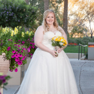 Alexis's Dropped Waist Lace Wedding Dress