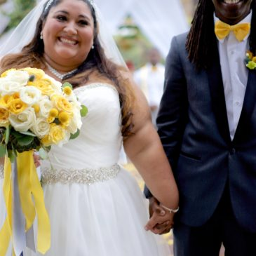Nicole's Gray and Yellow Wedding at Eagles Nest Golf Course