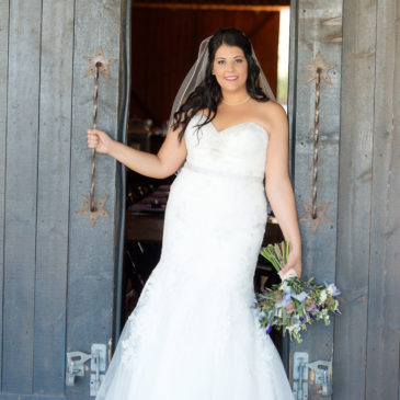 Carolyn's Bombshell Wedding Dress