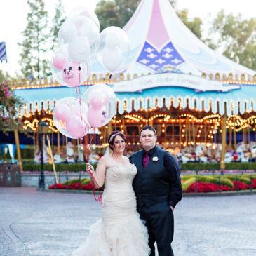 Amanda's Stunning Disneyland Wedding