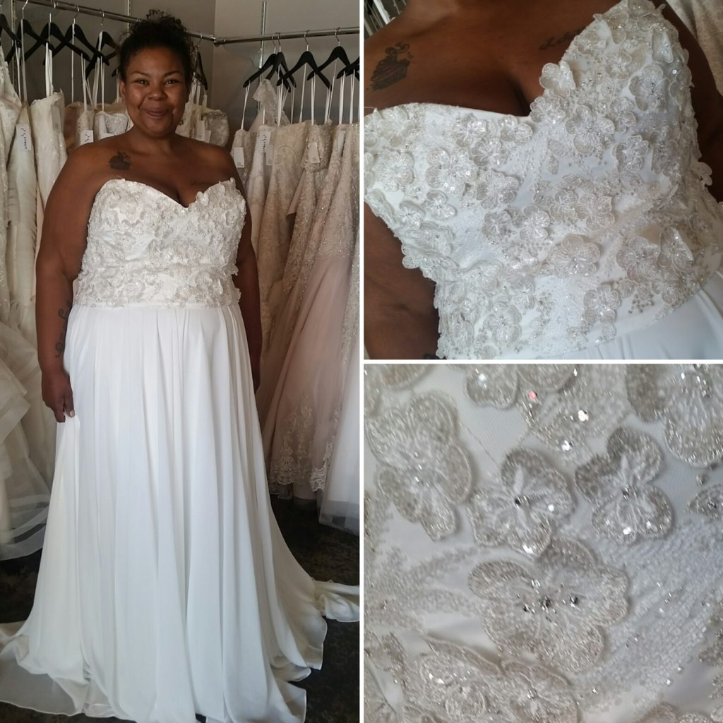NEW ARRIVAL - Plus Size Wedding Dress Separates - Strut Bridal Salon