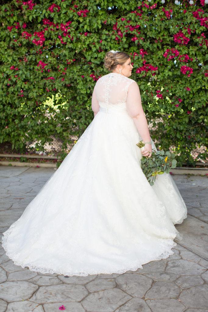 958c8c6eb221e Breanna's Sunny Sunflower Wedding in Long Beach - Strut Bridal Salon