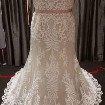 New Arrivals – Plus Size Fitted Lace Wedding Gowns