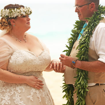 Jennifer's Hawaiian Luau Beach Wedding