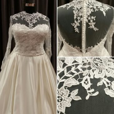 NEW – Satin Bodices for Wedding Dress Separates