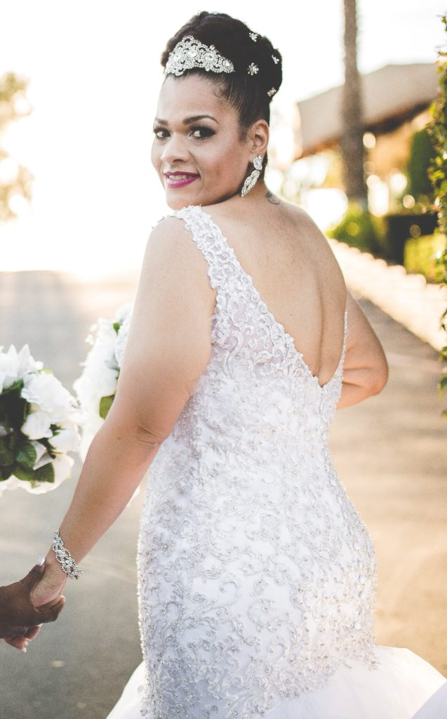 Bethanys Blingy Allure Mermaid Wedding Dress