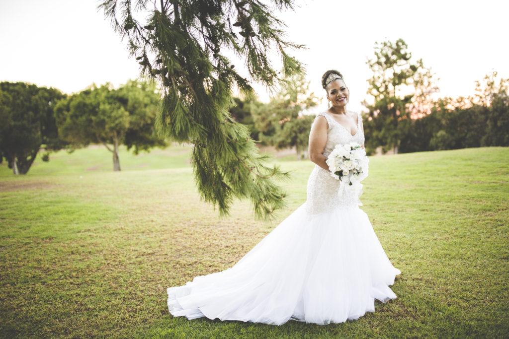Bethany\'s Blingy Allure Mermaid Wedding Dress - Strut Bridal Salon