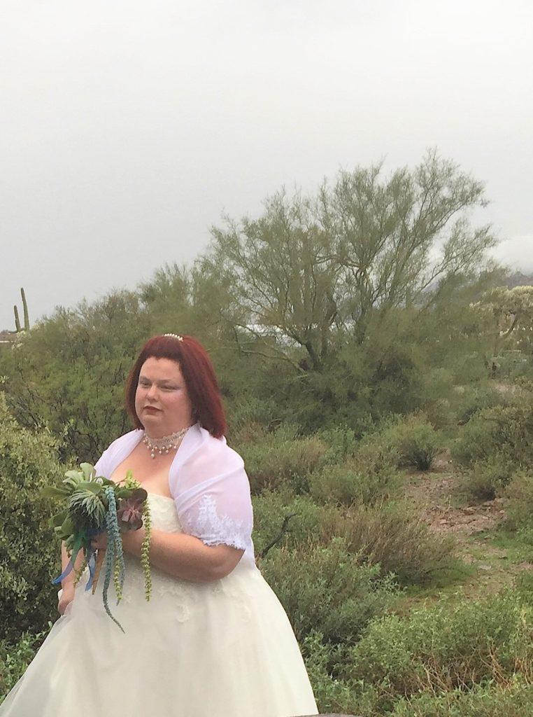 Valerie's Wedding at Lost Dutchman State Park - Strut Bridal