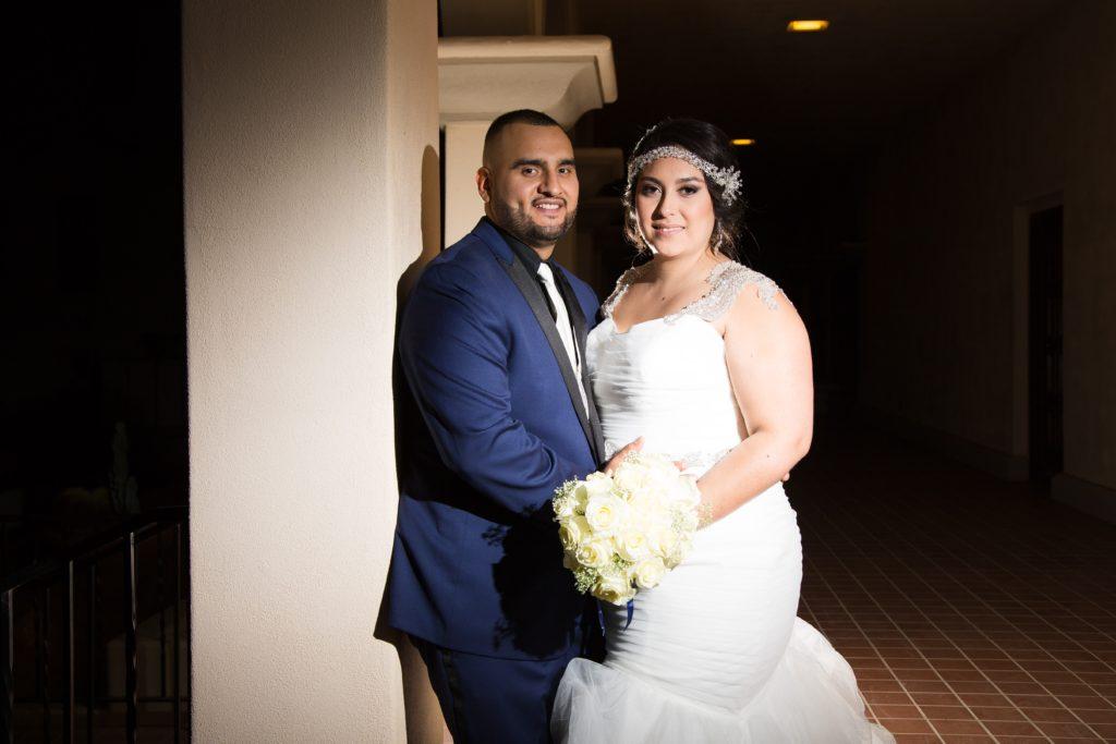 Suzette\'s Indoor Church Wedding in Tucson - Strut Bridal Salon
