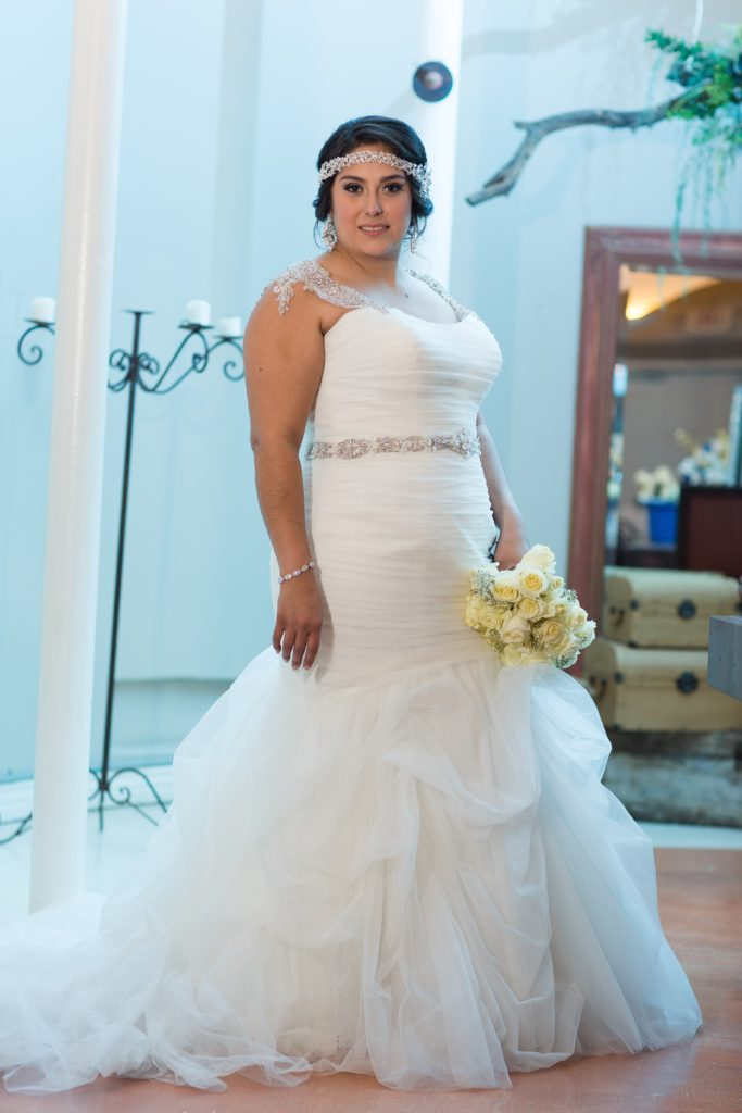 Suzette\'s Indoor Church Wedding in Tucson - Strut Bridal Salon