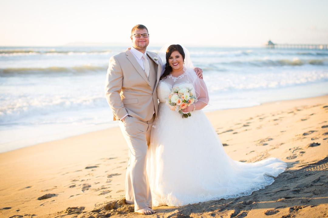 Kristy's Perfect Beach Wedding on Imperial Beach