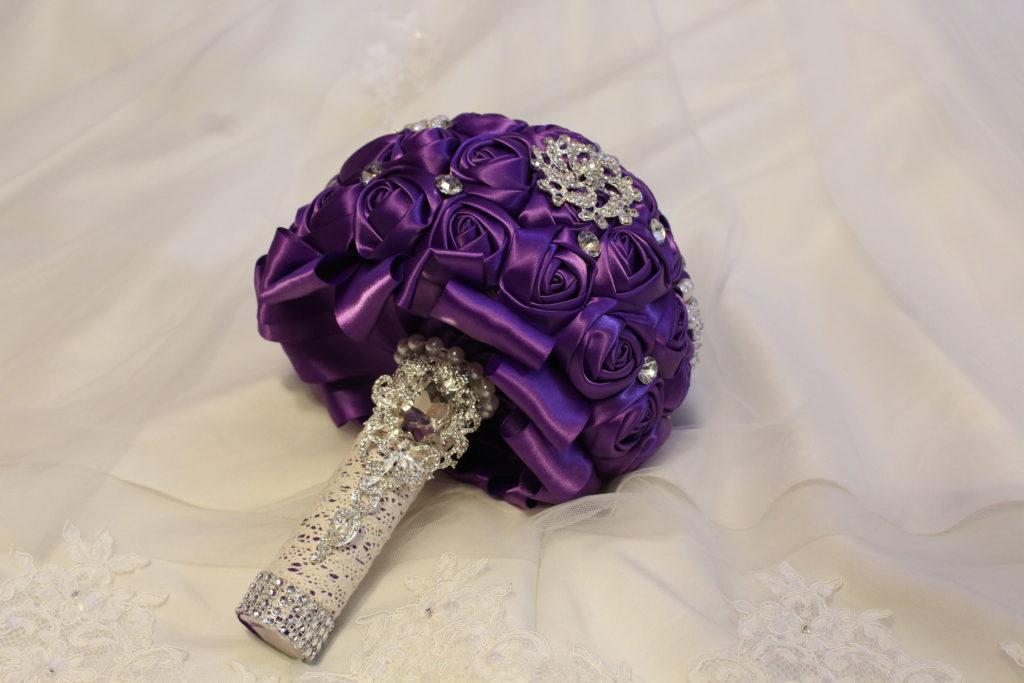 Soilas Black And Purple Wedding Strut Bridal Salon