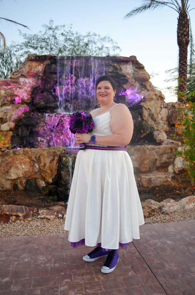 Samantha\'s Nuptials at The Falls in Gilbert, AZ - Strut Bridal Salon