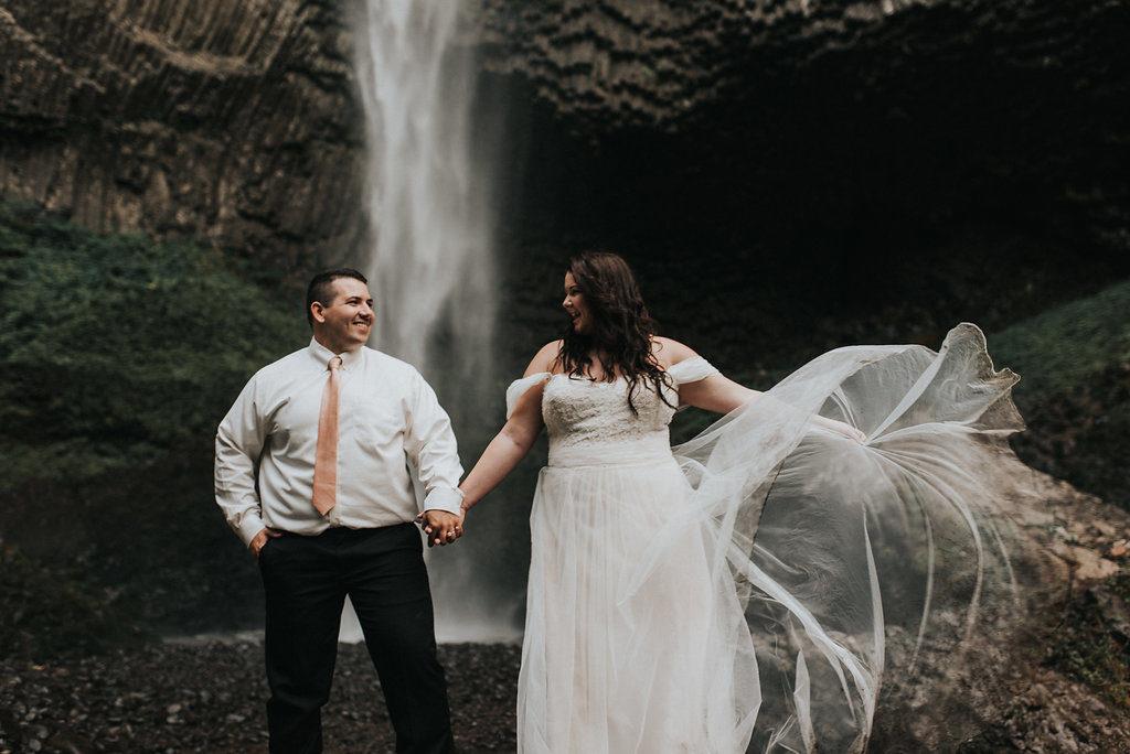 Maggie\'s Flowy Aline Wedding Dress - Strut Bridal Salon