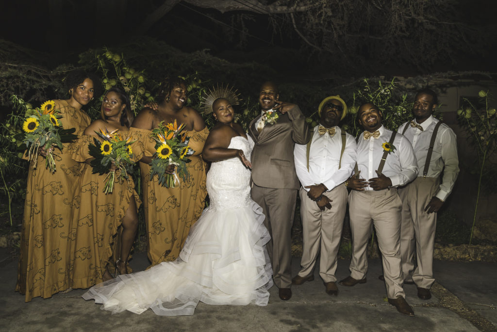 Chrystani's Non-Traditional Wedding Gown In Compton, CA