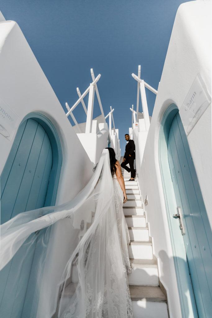 curvy bride Greece wedding