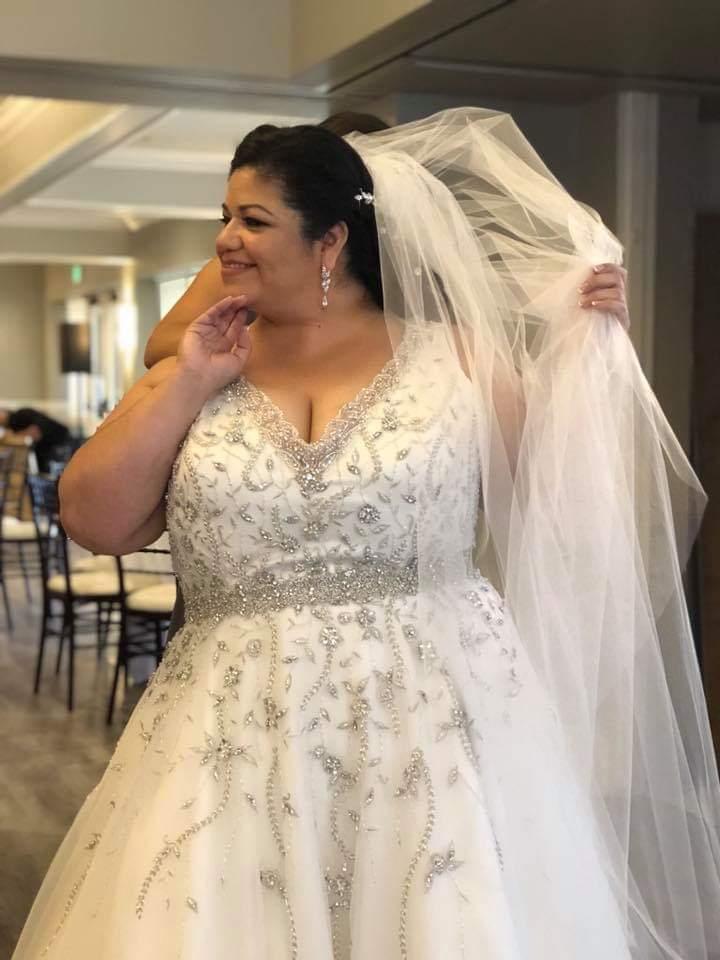 Eva\'s Glam Ballgown Wedding Dress - Strut Bridal Salon