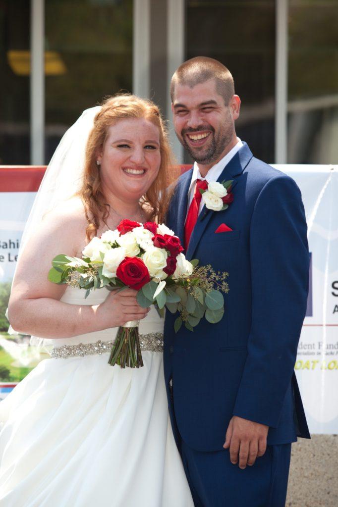 chiffon ballgown wedding dress for plus size brides