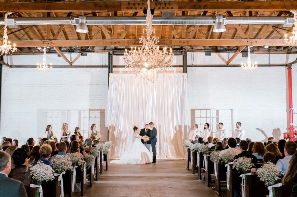 the Croft downtown Phoenix industrial wedding venue