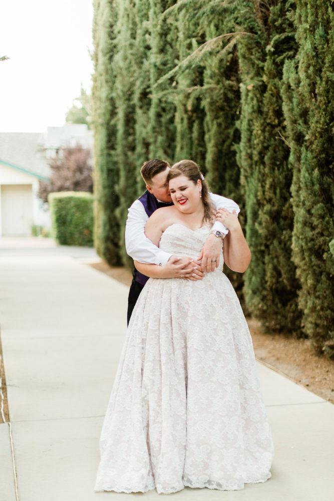 lace plus size wedding dress