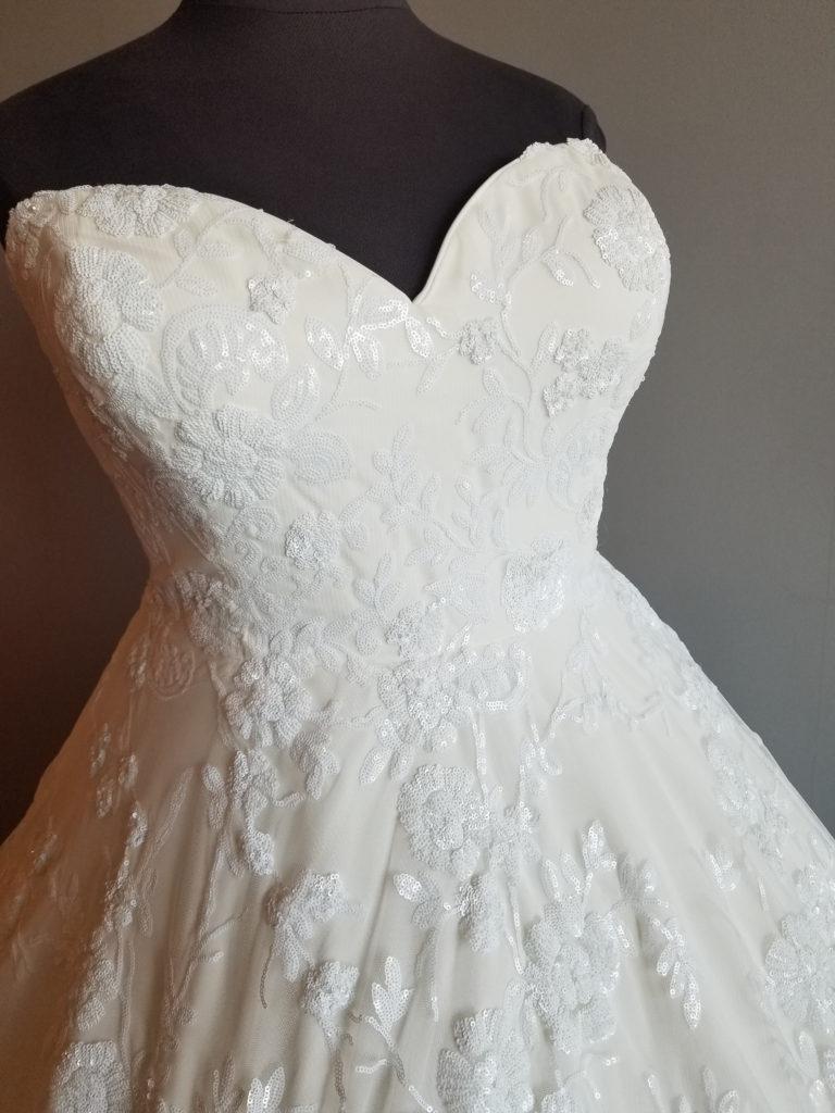 plus size designer wedding gown los angeles long beach