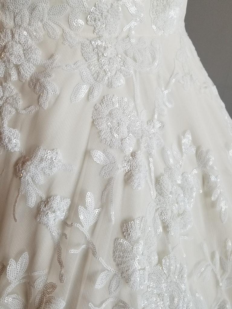 plus size sequin wedding dress los angeles