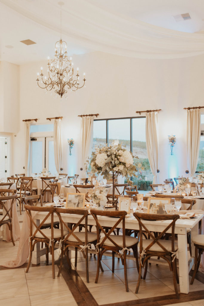 temecula winery wedding tablescape